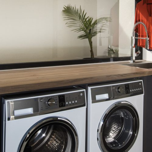 Laundry Wooden Top